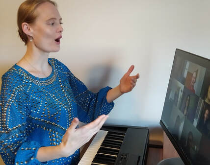 Adult online singing class